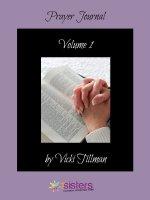 Prayer Journal 1