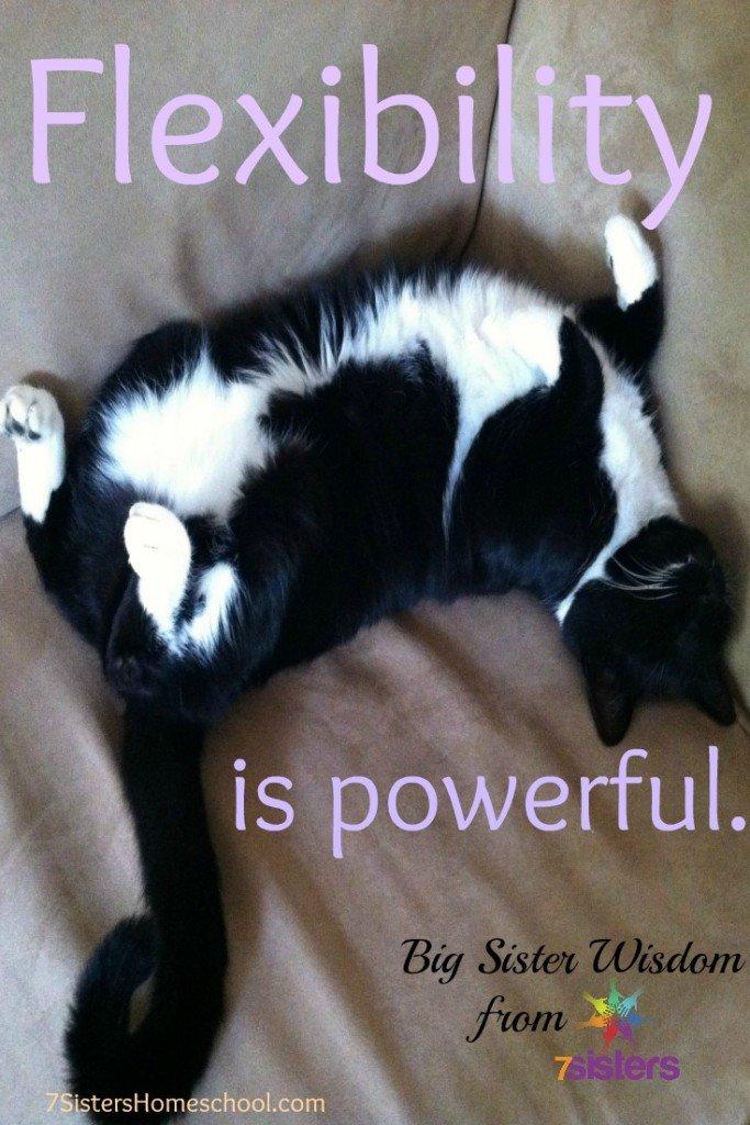 Flexibility is powerful