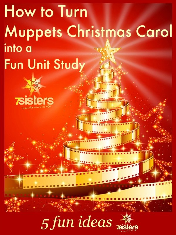 Turn Muppets Christmas Carol into a Homeschool Unit Study
