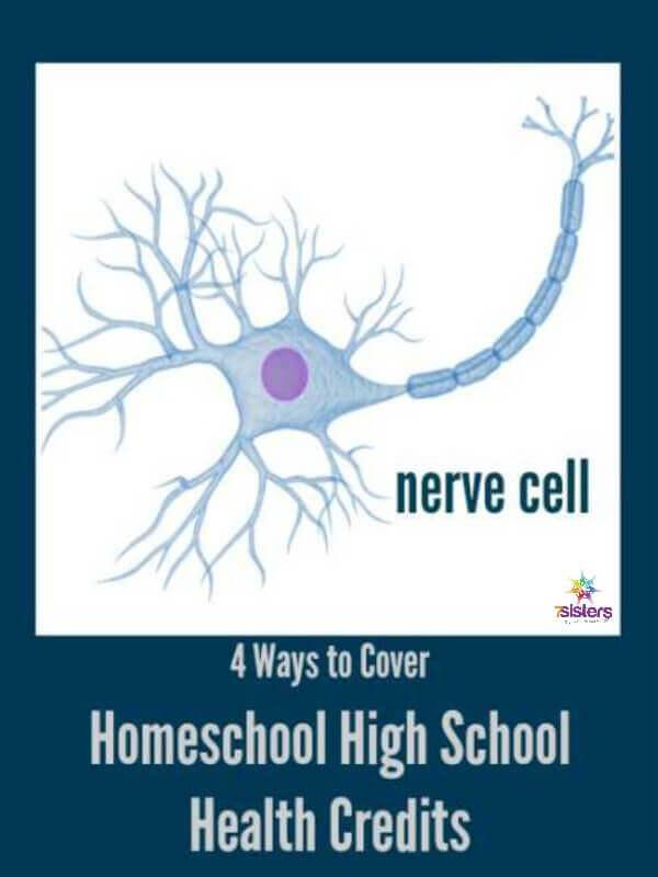 4 Ways to Cover Homeschool High School Health Credit 7SistersHomeschool.com