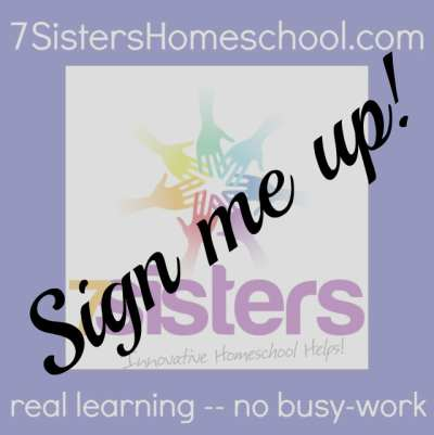 Become a 7SistersHomeschool.com Affiliate and EARN money while promoting products you love!