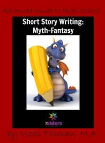 Write a fantasy short story in high school with this fun writing guide from 7sistershomeschool.com