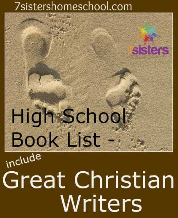High School Book List - Include Great Christian Writers