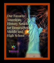 Our Favorites: American History Novels for Homeschool Middle and High School