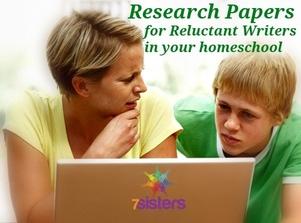 Research Paper Help for Reluctant Writers in Your Homeschool