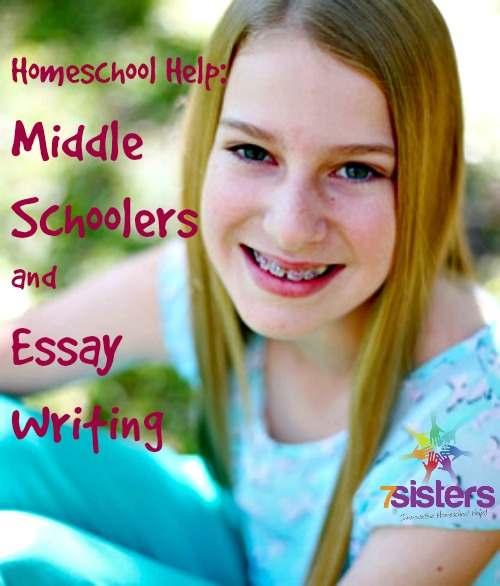 Middle School Essay Writing Help