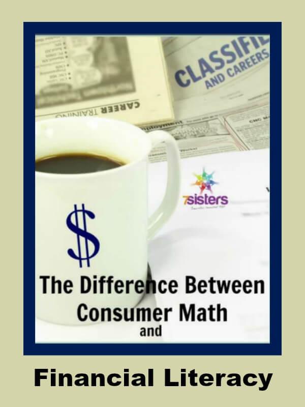Consumer Math Financial Literacy