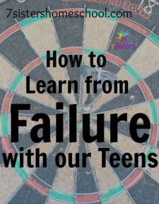 learn from failure with teens