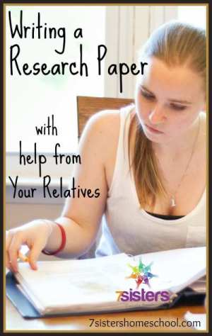 Writing a Research Paper with Help from your Relatives