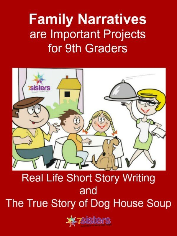 Real Life Short Story Writing (with a real-life example) 7SistersHomeschool.com