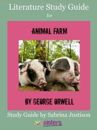 Animal Farm Literature Guide from 7SistersHomeschool.com