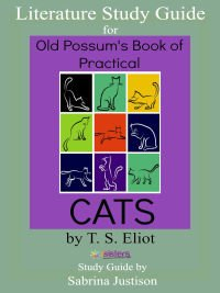 Old Possums Book of Practical Cats Literature Guide 7SistersHomeschool.com