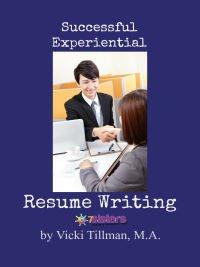 Experiential Resume Writing Guide 7SistersHomeschool.com