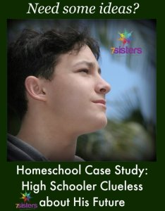 Homeschool Case Study: Teen Clueless About the Future 7SistersHomeschool.com