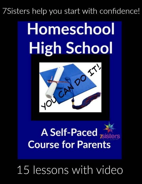 Homeschool High School: You Can Do It! Self-paced course for homeschool parents.