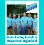HSHSP Ep 84 Moms Finding Friends When Homeschooling Highschool