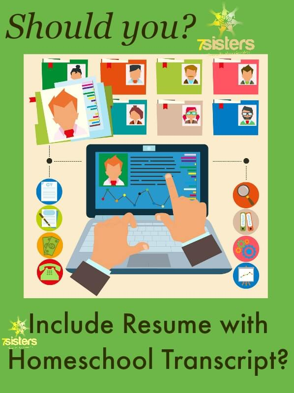 Resume with Homeschool Transcript