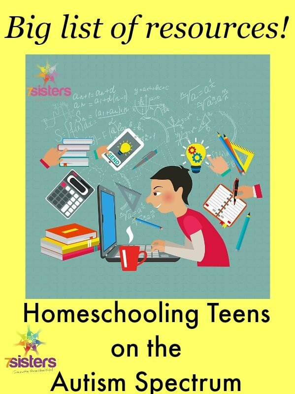 Resources for Parents of Autism Spectrum Homeschool Teens