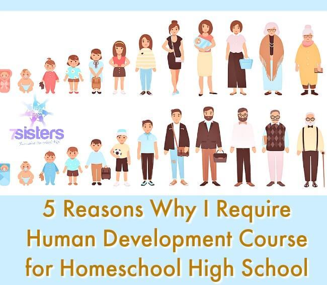 Human Development Course for Homeschool High School