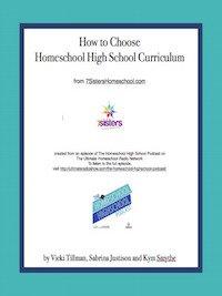Rhythms of a Homeschool Year How to Choose Homeschool High School Curriculum