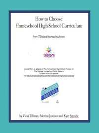 Rhythms of a Homeschool Year How to Choose Homeschool High School Curriculum