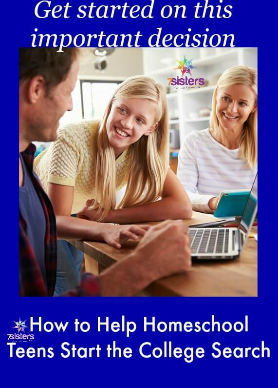 How to Help Homeschool High Schoolers Begin the College Search