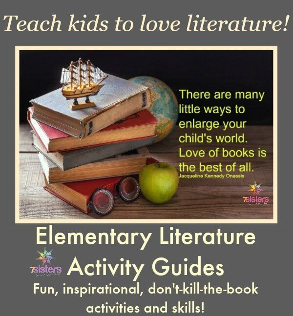 Elementary Literature Activity Guides. Make learning to read fun with hands-on learning activities for reading.