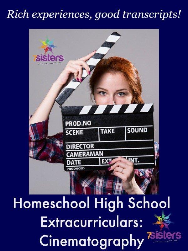 Homeschool High School Extracurriculars: Cinematography