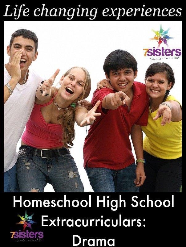 Homeschool High School Extracurriculars: Drama