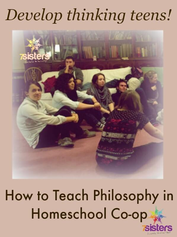 How to Teach Philosophy in Homeschool Co-op