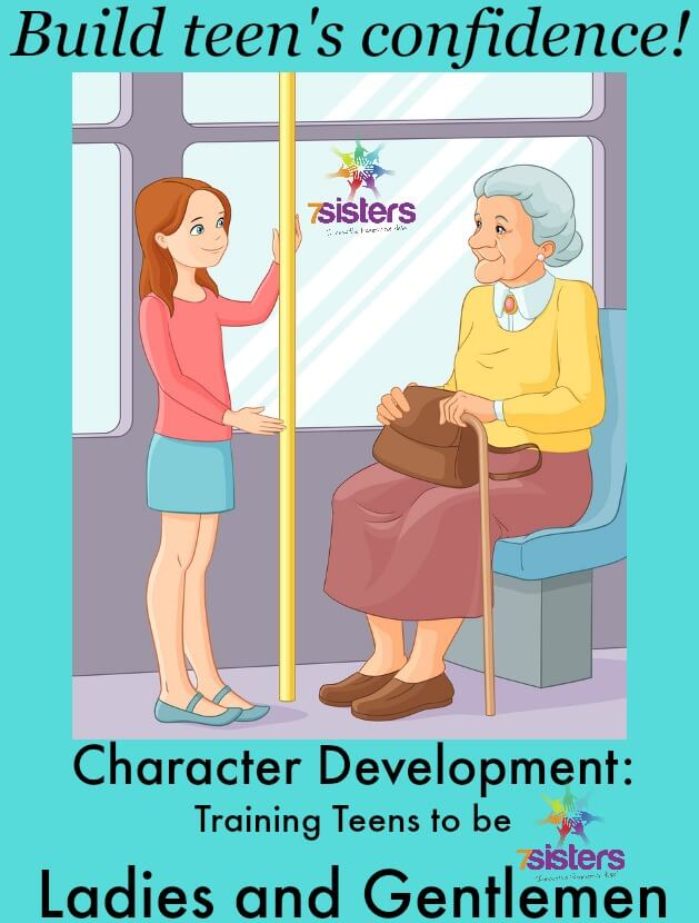 Character Development: Training Teens to be Ladies and Gentlemen
