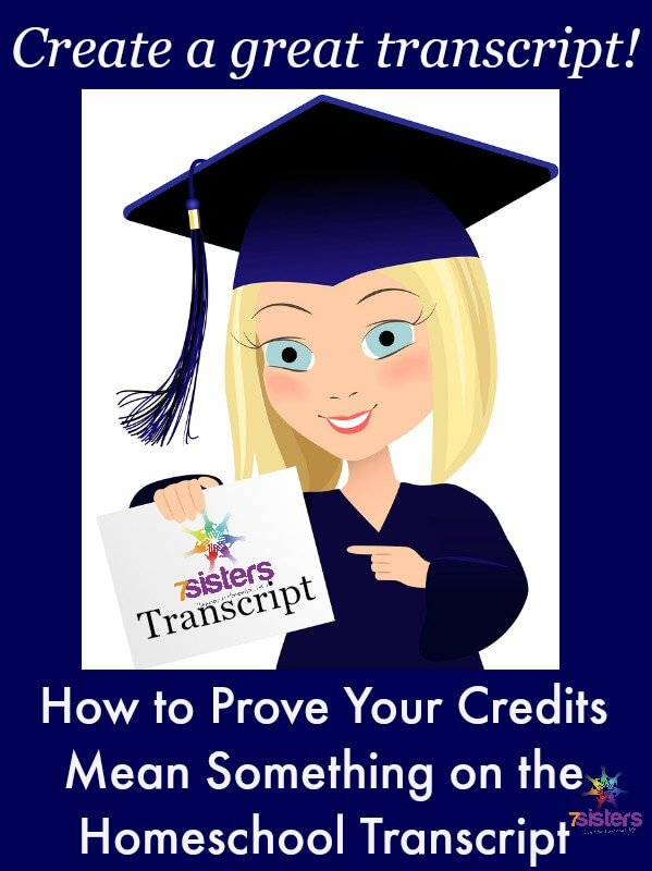 How to Prove Your Credits Mean Something on the Homeschool Transcript