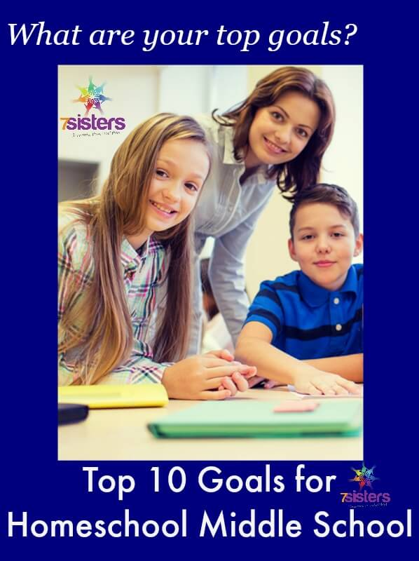 Top 10 Goals for Homeschooling Middle School