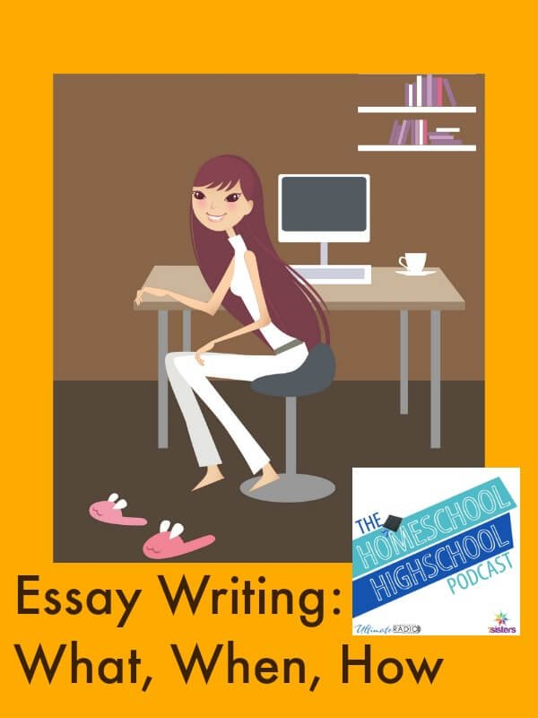 Homeschool Highschool Podcast Ep 60 Essay Writing: What, When, How