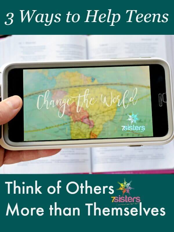 3 Ways to Help Teens Think of Others Before Themselves. 7SistersHomeschool.com shares about perspective taking and character development in homeschool high school.