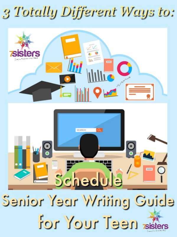Schedule Senior Year Writing Guide for Your Teen