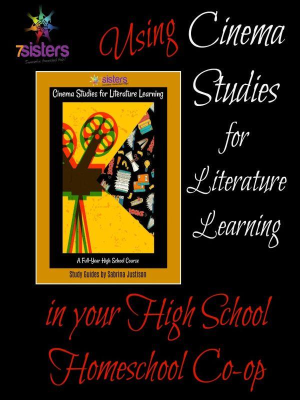 Cinema Studies for Literature Learning in your high school homeschool co-op