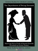 The Importance of Being Earnest Cinema Study Guide