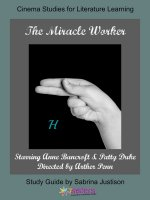 The Miracle Worker Cinema Study Guide