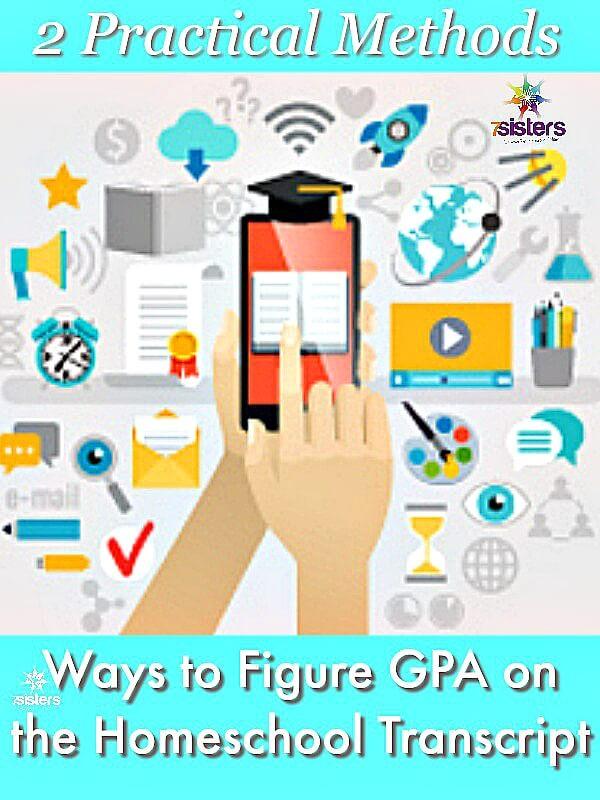 2 Practical Ways to Figure GPA on the Homeschool Transcript