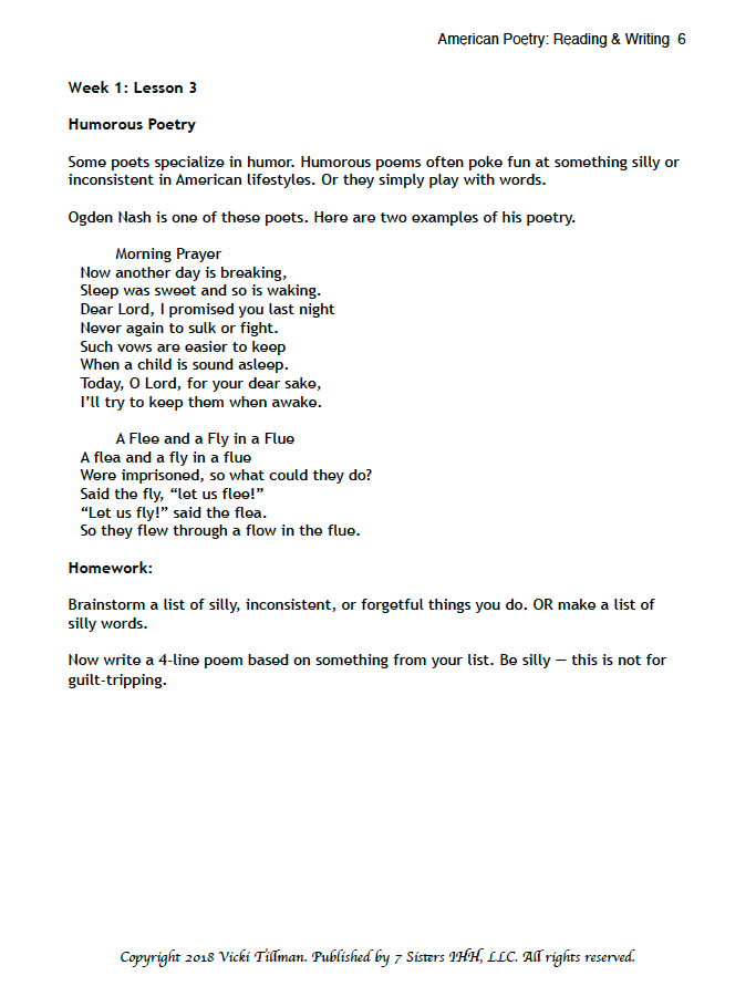 American Poetry Guide excerpt 4
