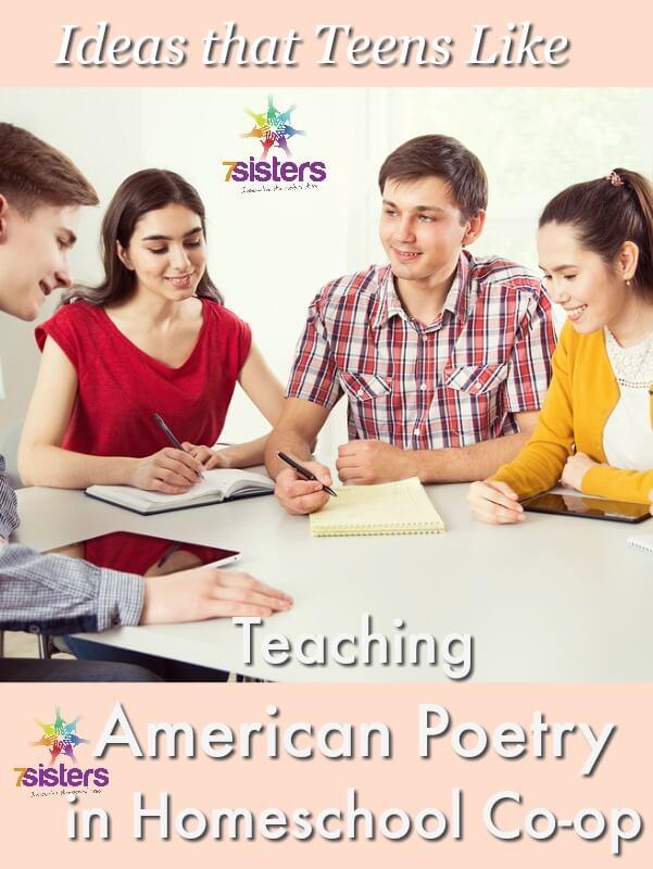 Teaching American Poetry in Homeschool Co-op