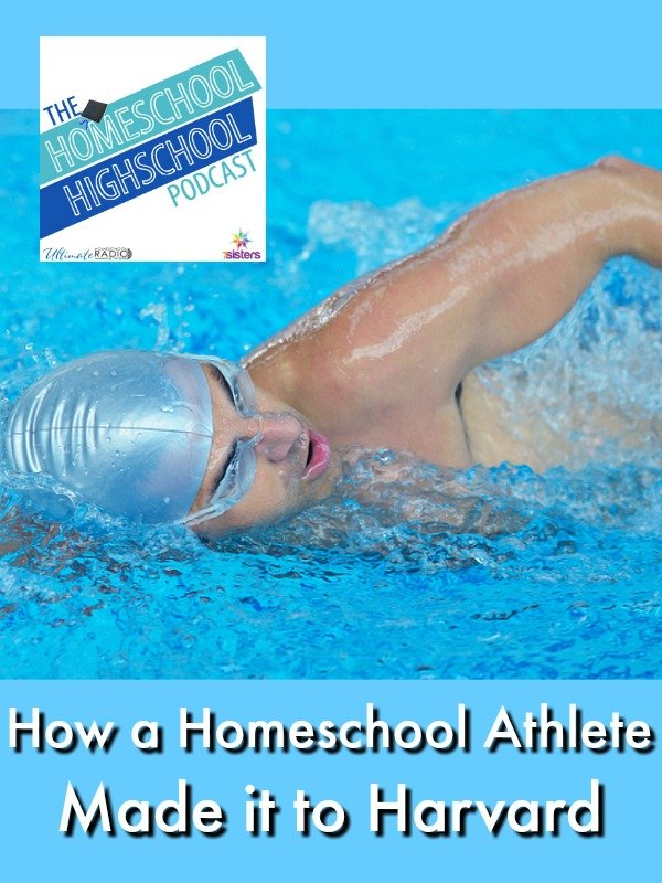 HSHSP Ep 107: How a Homeschool Athlete Made it to Harvard
