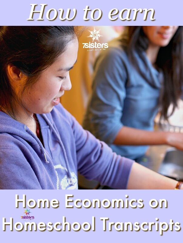How to Earn Home Economics on Homeschool Transcripts
