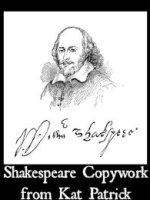 Shakespeare Copywork from Kat Patrick