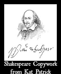 Shakespeare, Interview with Kat Patrick Shakespeare Copywork