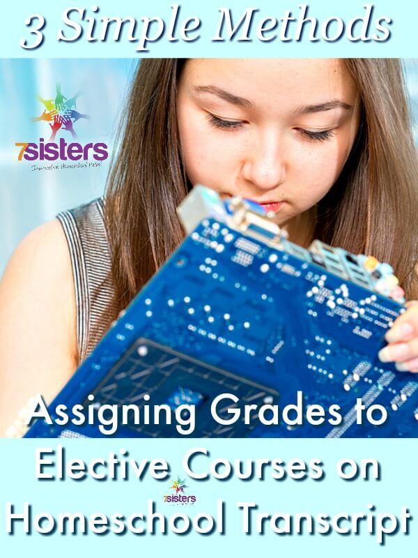 3 Ways to Assign Grades to Elective Courses on Homeschool Transcript