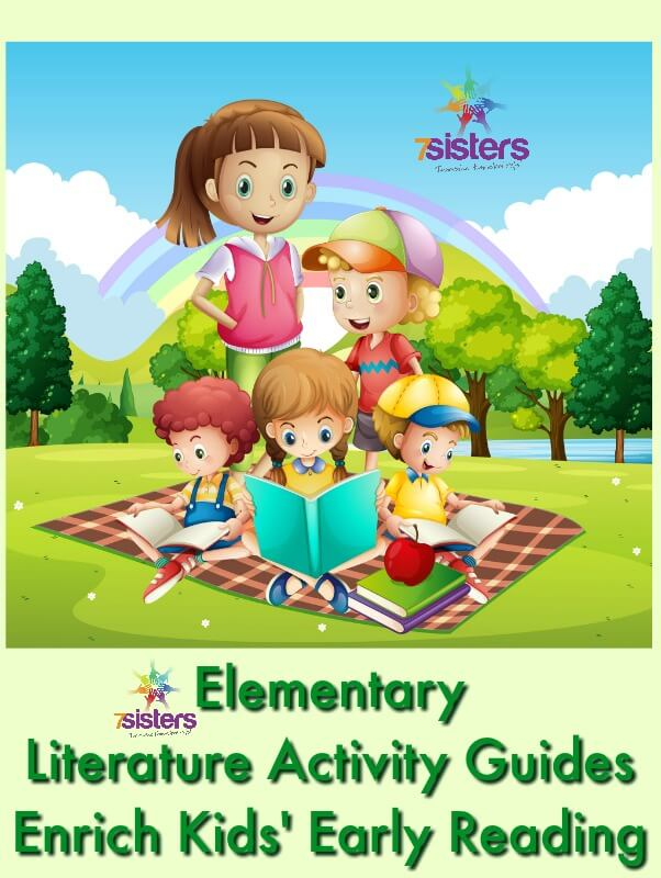 Elementary Literature Activity Guides Enrich Kids' Early Reading