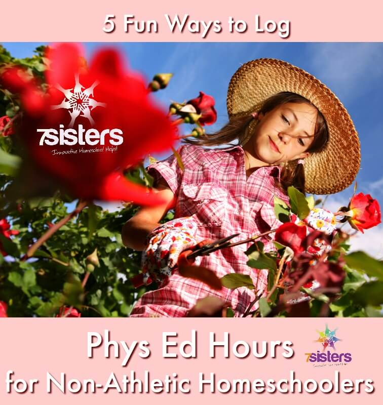 5 Fun Ways to Log Phys Ed Hours for Non-Athletic Homeschoolers