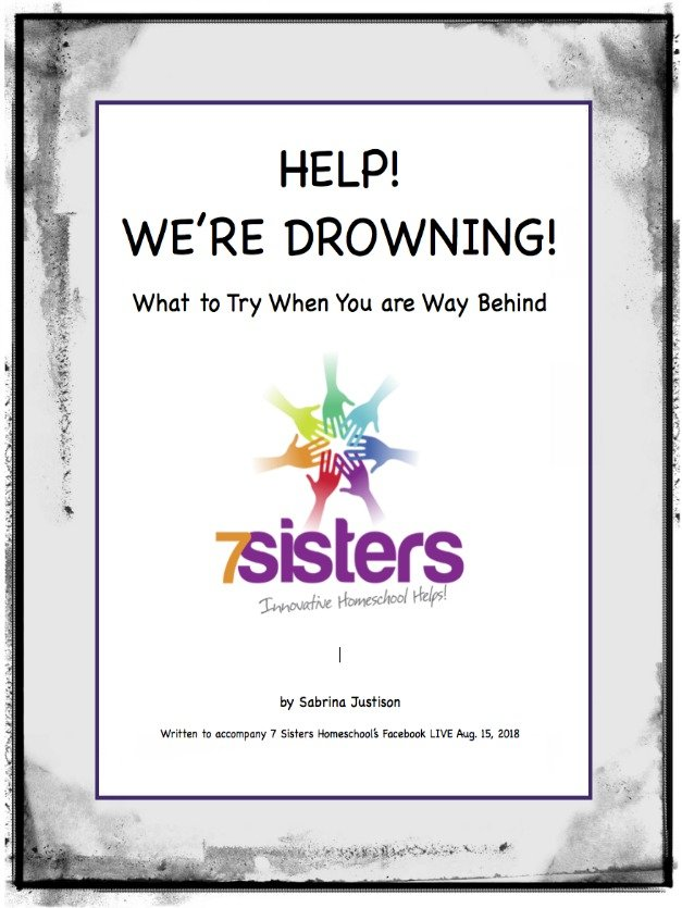 Help! We Are Drowning! What to Try When You Are WAY Behind in Homeschool High School